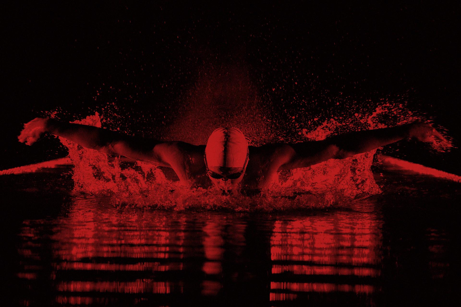 Nadando en magma
